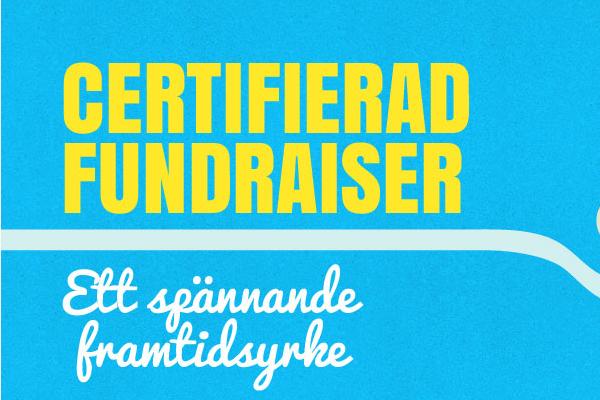 Certifierad fundraiser