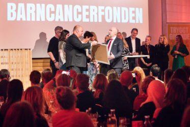 Barncancerfonden, Årets insamlare - organisation
