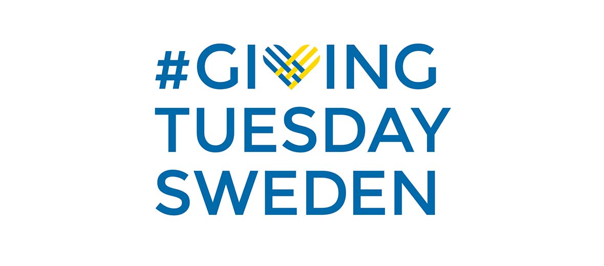 Giving Tuesday Sweden tag