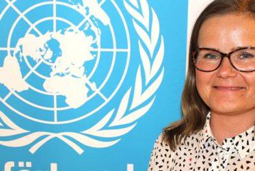 Petra Hallebrant, generalsekreterare på FN-förbundet
