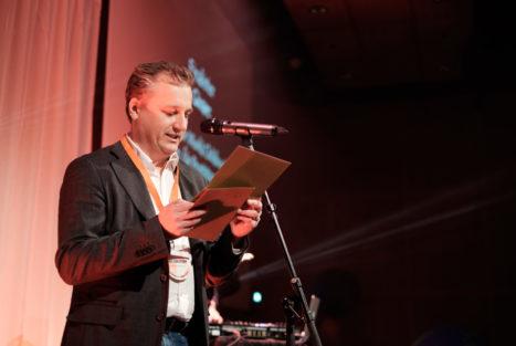 Tomas Carlström, Insamlingsforum 2018. Foto: Johanna Lingaas Türk