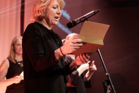 Camilla Wallander, Insamlingsforum 2018. Foto: Johanna Lingaas Türk