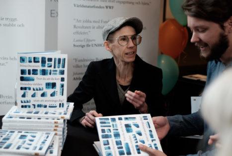 Stina Oscarsson, Insamlingsforum 2018. Foto: Johanna Lingaas Türk