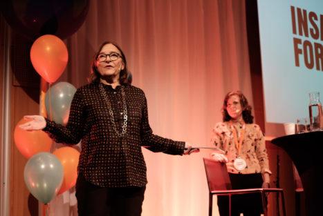 Helene Benno, Insamlingsforum 2018. Foto: Johanna Lingaas Türk