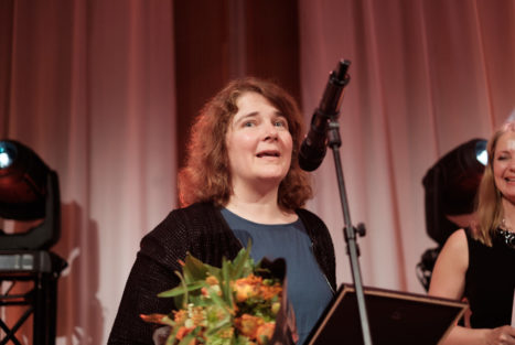 Årets Insamlare - Kollega, Jenny Sjöberg Världsnaturfonden WWF. Insamlingsforum 2018. Foto: Johanna Lingaas Türk.