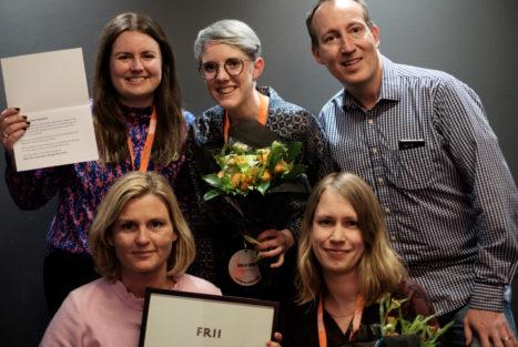 Operation Smile tog emot priset för Årets Stjärnskott, då 12-årige Albert Hellström inte var på plats på Insamlingsforum 2018.