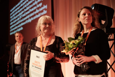 Årets insamlare - organisation, World Animal Protection, Insamlingsforum 2018. Foto: Johanna Lingaas Türk.