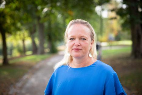 Anna Karin Hildingson Boqvist, ECPAT Sverige. Foto: Jonas Svedberg.