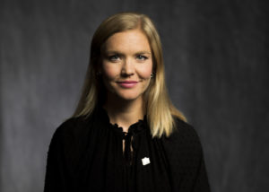 Sara Scheller, Roul Wallenberg Academy. Foto: Sanna Sjöswärd