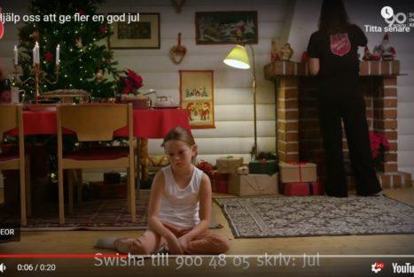 Frälsningsarmén: hjälp fler att ha råd att fira jul
