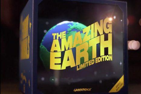 Amazing earth *limited edition hos Greenpeace