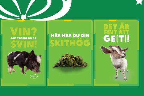 Humoristiska gåvobevis hos Oxfam